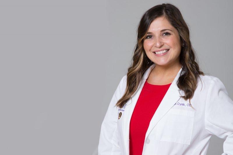 Lauren Dyak of Woolfson Eye Institute